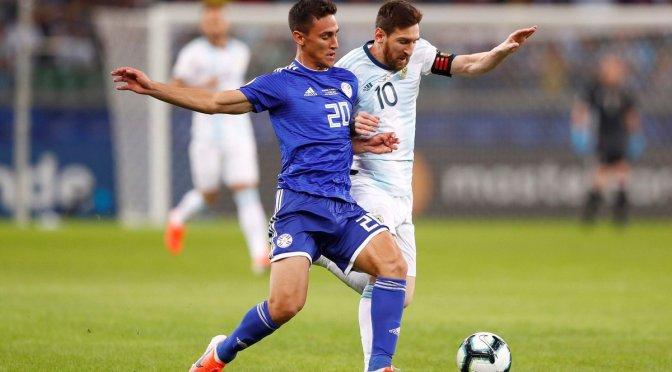 Copa América: Argentina no pasó del empate ante Paraguay