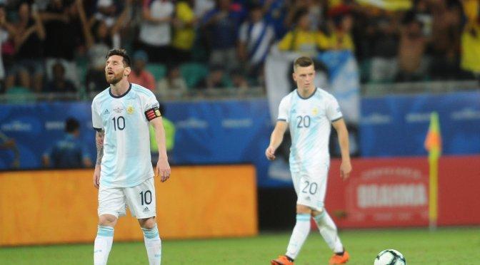 Copa América: Colombia se aprovechó de una floja Argentina