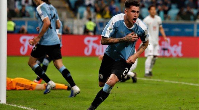 Copa América: Japón frenó el afán de Uruguay