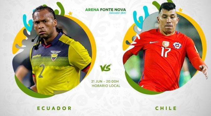 Ecuador – Chile: uno por la recuperación, el otro por la clasificación
