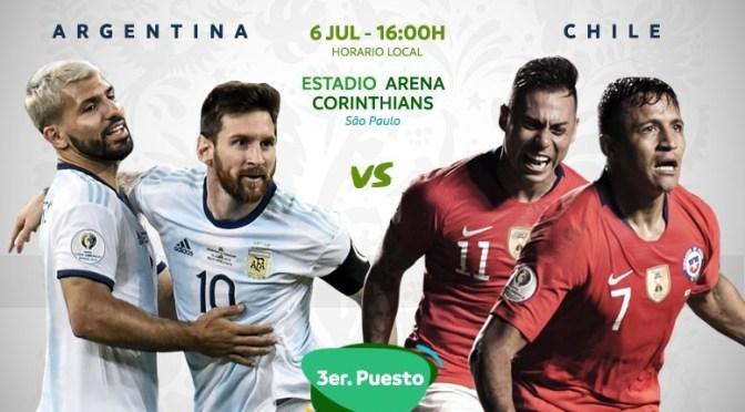 Argentina – Chile: por el tercer puesto