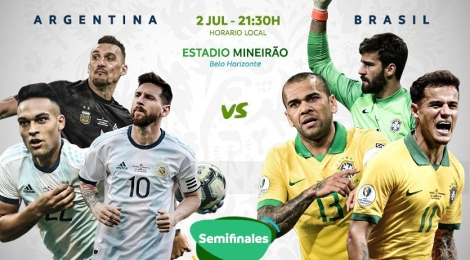 Argentina – Brasil: un clásico que vale un boleto a la final