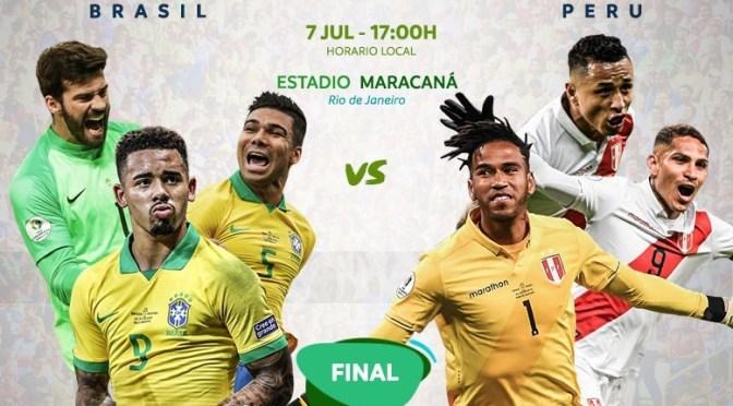 Brasil – Perú: se define el nuevo campeón