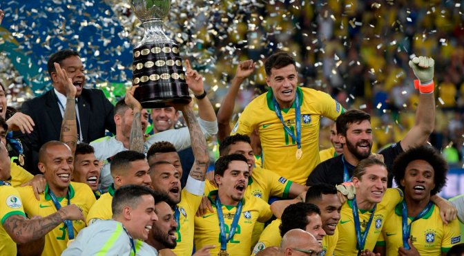 Brasil le ganó a Perú y se consagró campeón de la Copa América