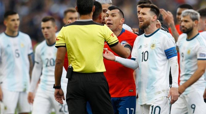 Argentina se quedó con el 3er puesto en otro polémico arbitraje