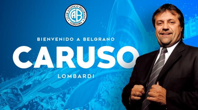 ¡Habemus DT! Caruso Lombardi es nuevo entrenador de Belgrano