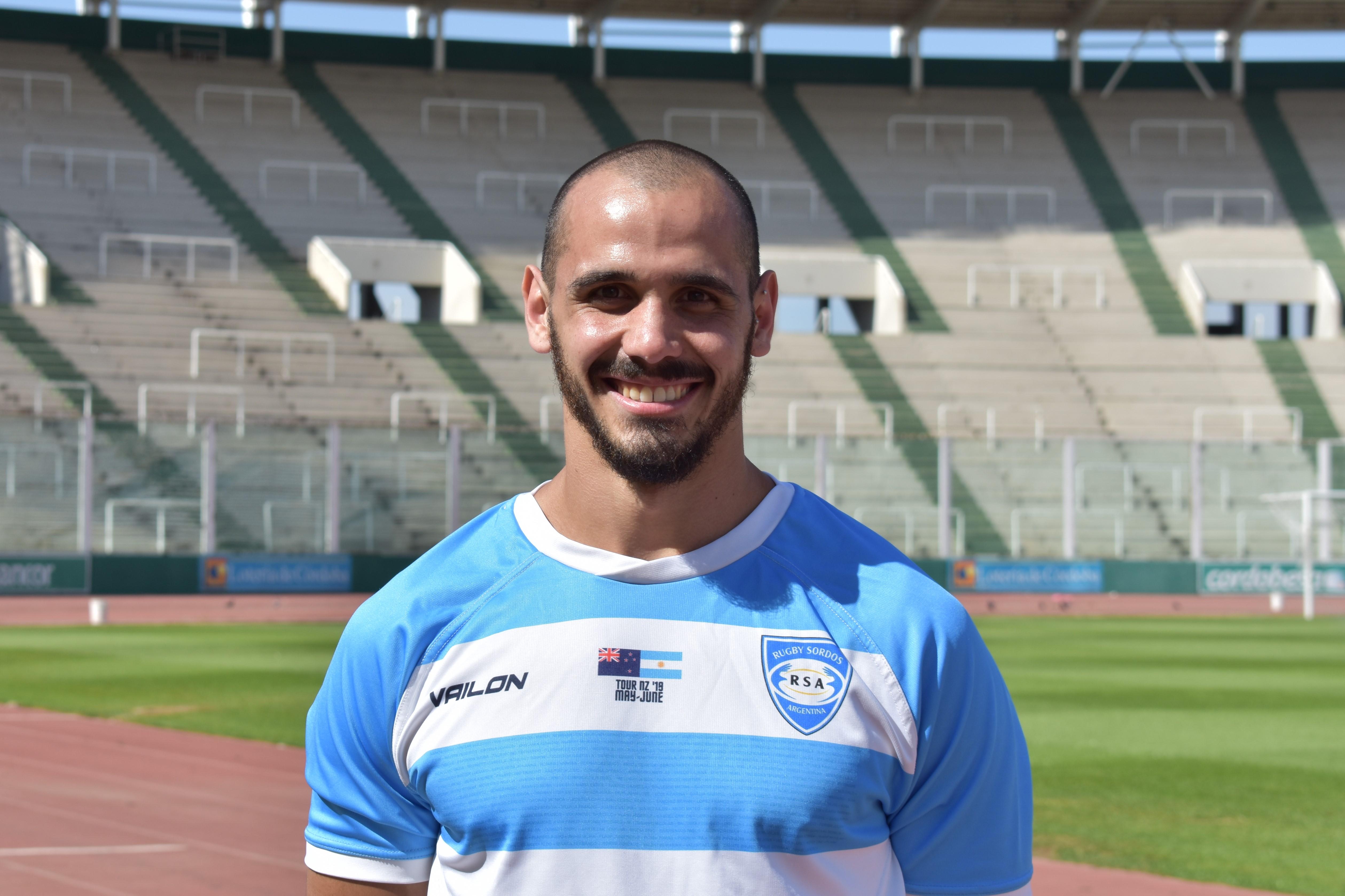 Matías Morillo, jugador.
