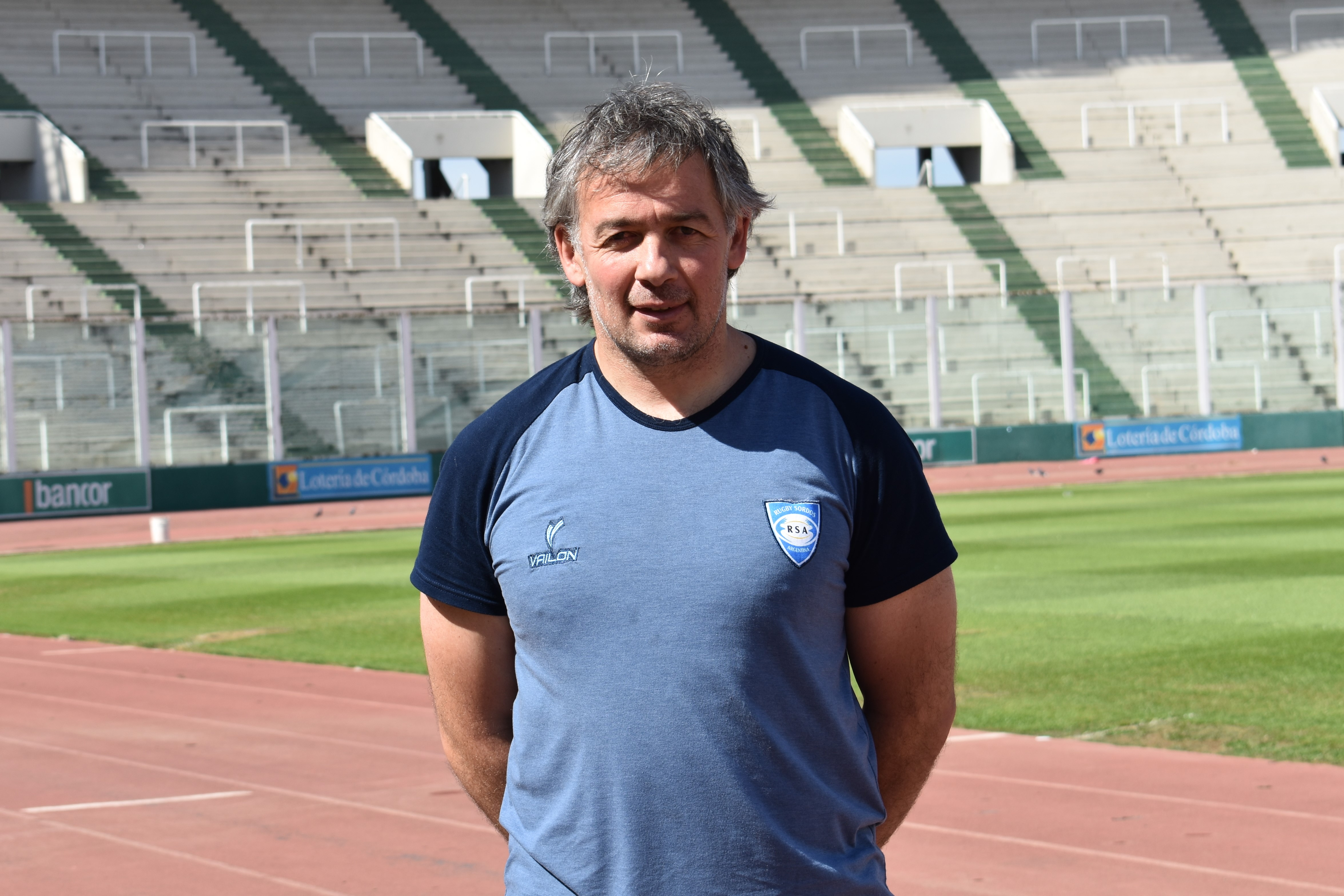 Javier Ramon, entrenador de RSA