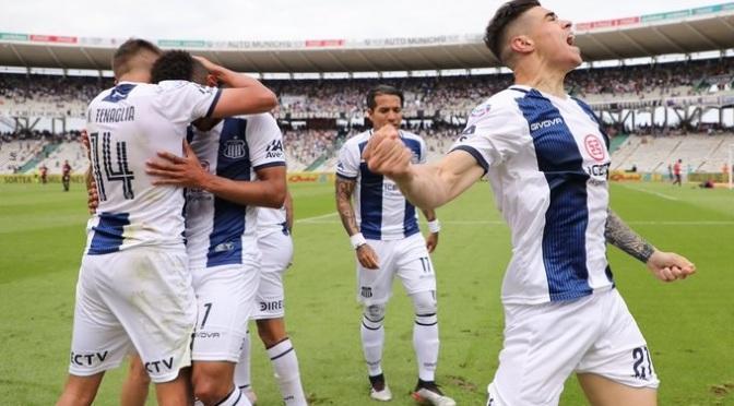 Escuchá el gol de la victoria de Talleres ante Newell's en el relato de Arturo Lucchetta