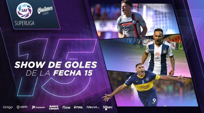 Superliga: show de goles de la fecha 15