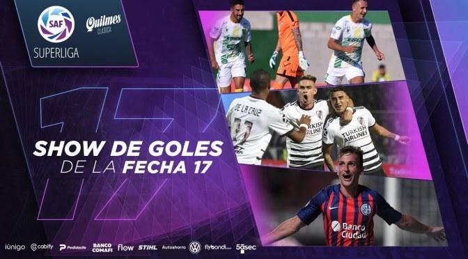 Superliga: show de goles de la fecha 17