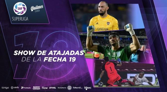 Superliga: show de atajadas de la fecha 19