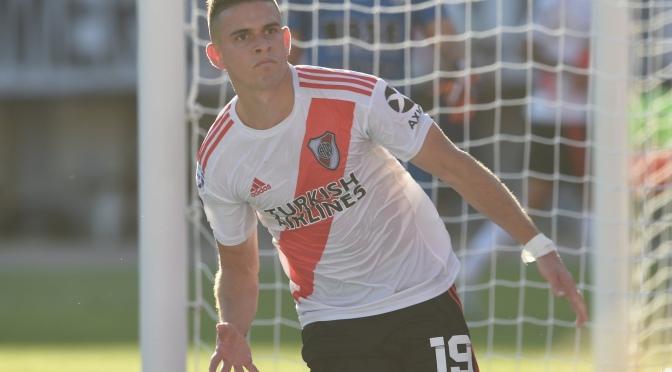 River le ganó a Central Córdoba y se afirmó en la punta de la Superliga