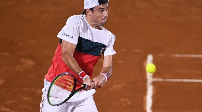 Córdoba Open: debut y despedida para Guido Pella