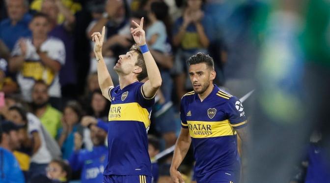 Boca se cargó a Atlético Tucumán y se trepó a lo más alto de la Superliga