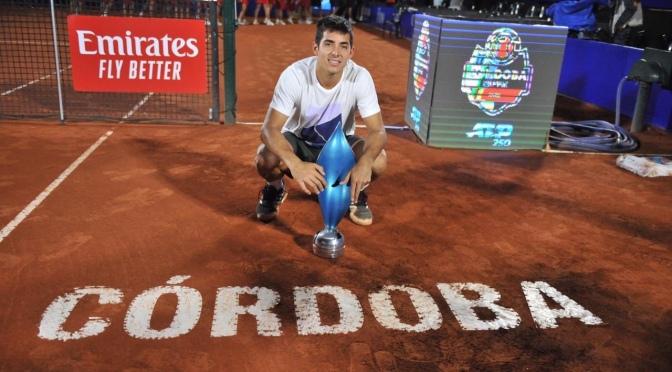 Córdoba Open: Garín tachó a Schwartzman y gritó campeón