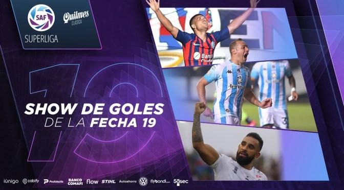 Superliga: show de goles de la fecha 19