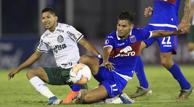 Tigre cayó ante Palmeiras en su debut en la Copa Libertadores